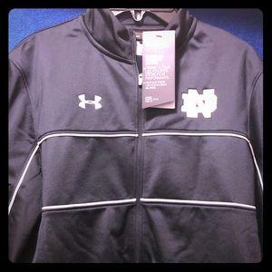 Notre Dame zip jacket